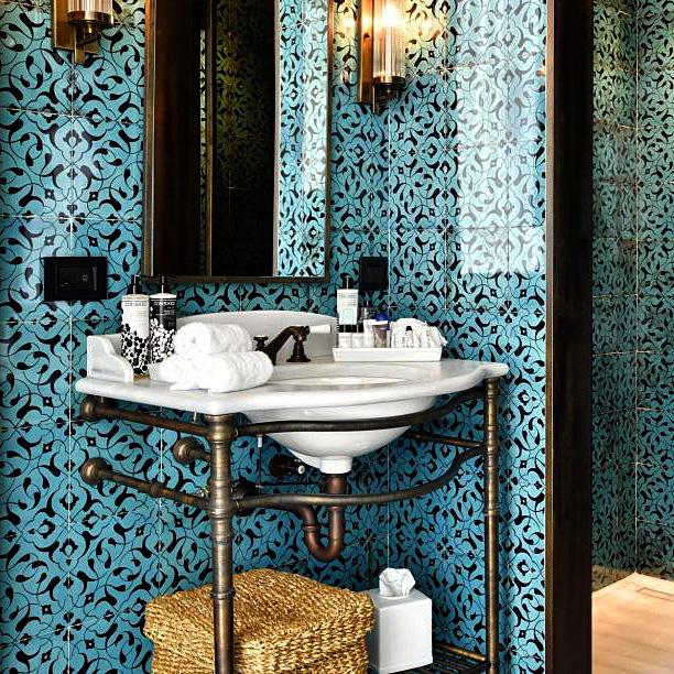 Create A Soho House Look in your Bathroom