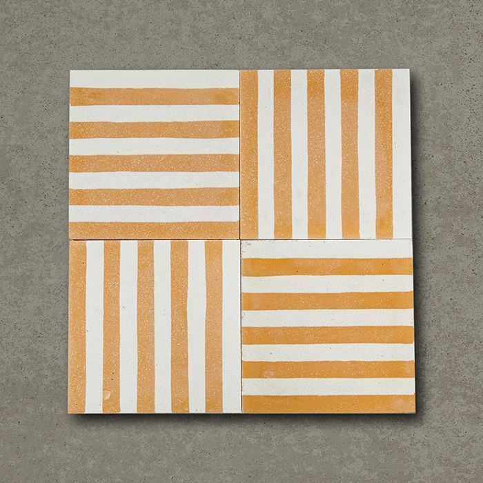 smooth stripes cement tile