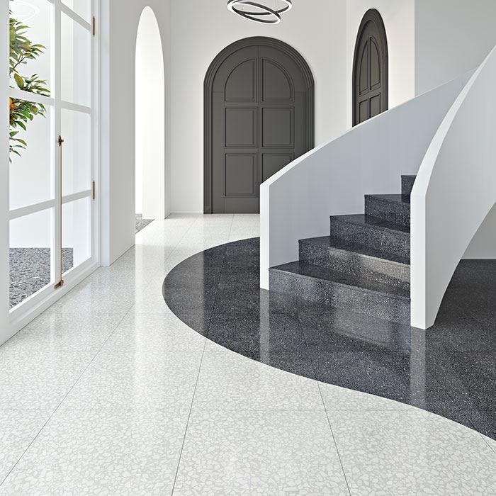 How To Install Terrazzo Floor Tiles Installing Terrazzo