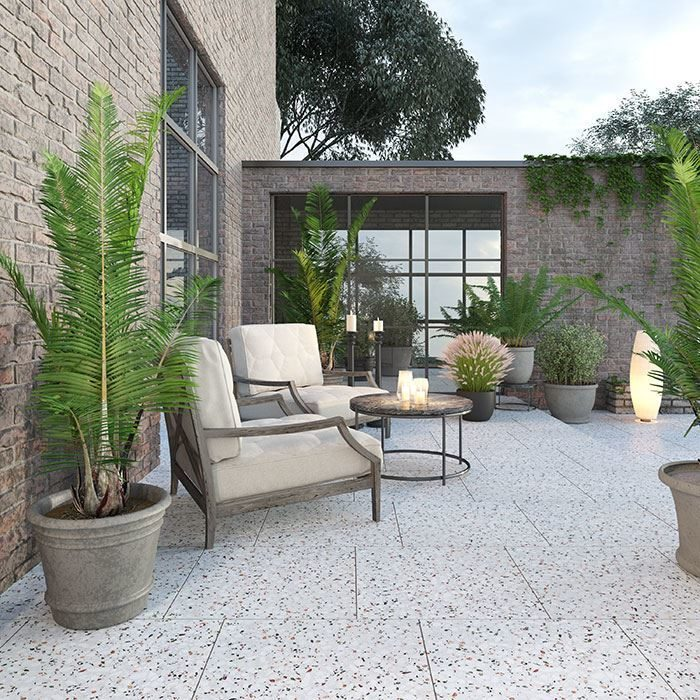 Terrazzo Tiles: Ideal for your garden and terraces