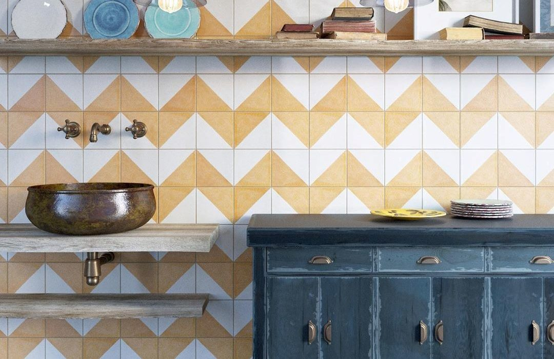 How to grout cement tiles?