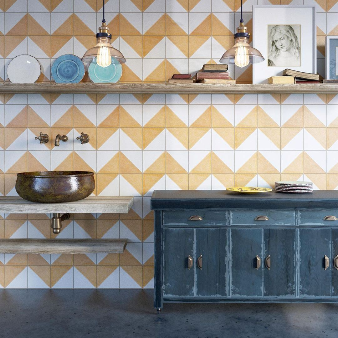 How to grout encaustic cement tiles