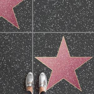 hollywood walk of fame terrazzo